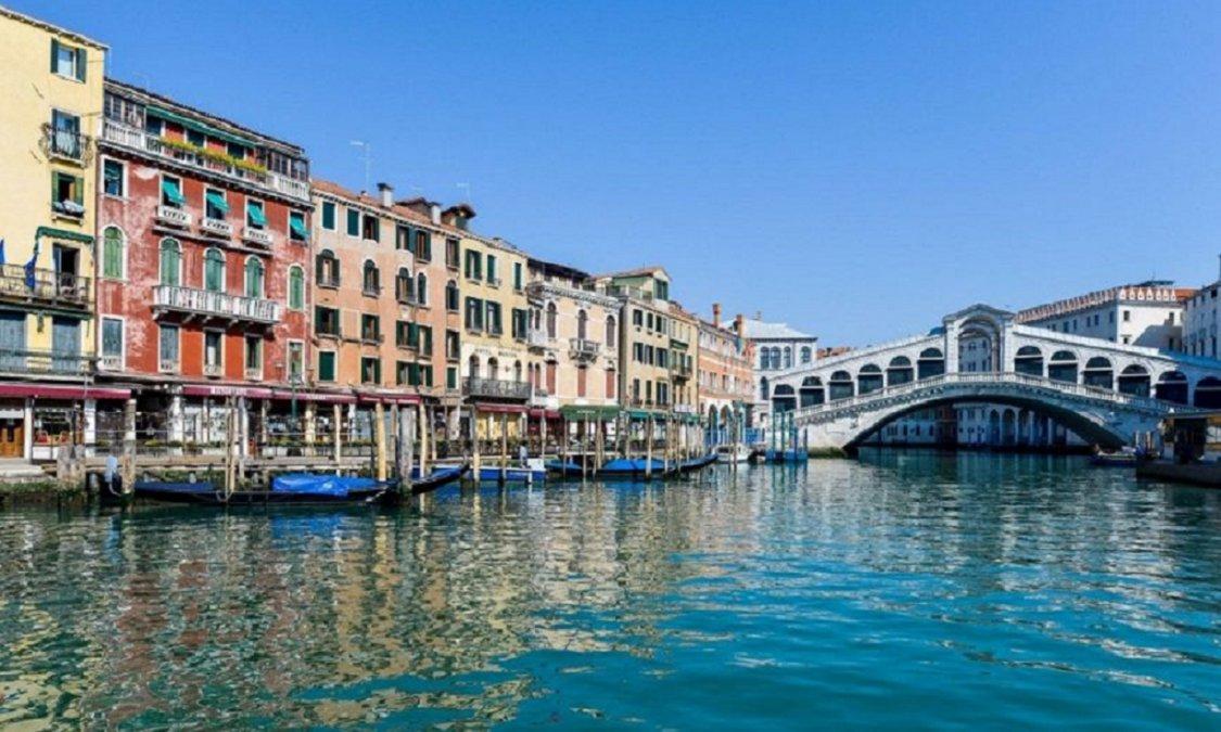 Canales de Venecia.