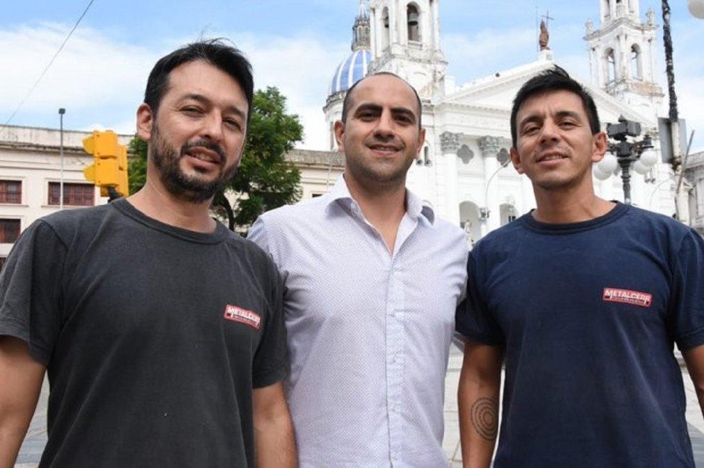 Sebastián Flores y Santiago Romero