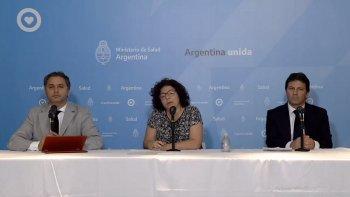 Argentina sumó 101 nuevos casos de coronavirus