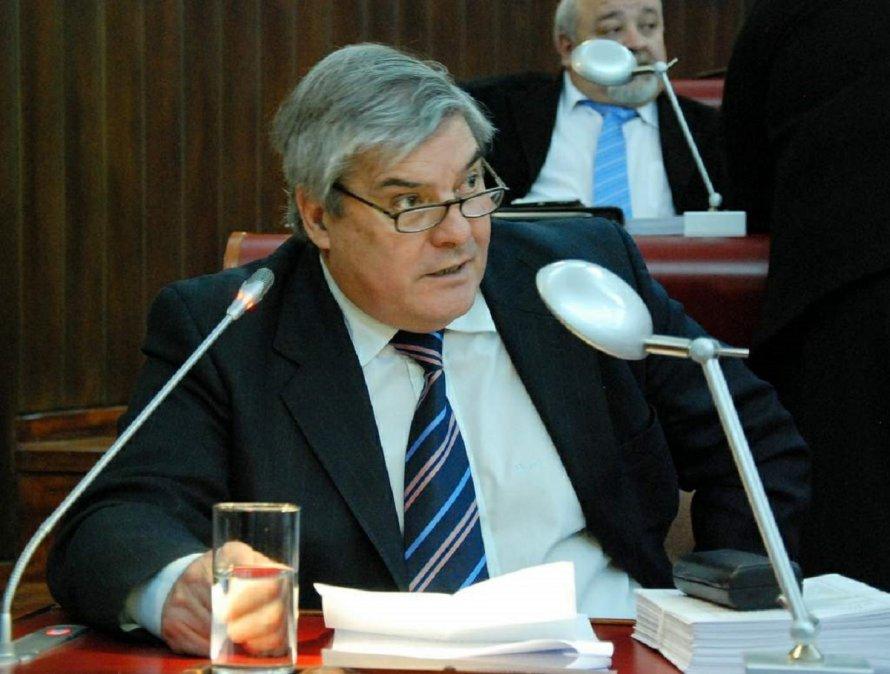 José Karamarko en la Legislatura Provincial.