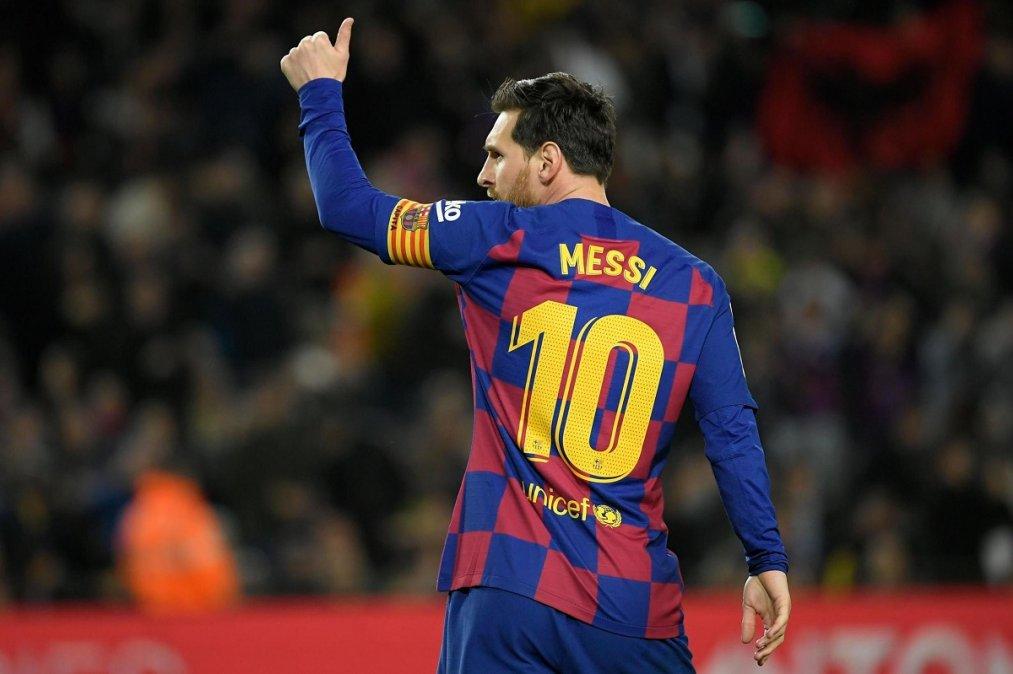 Messi aceptó reducir los salarios en el plantel del Barcelona