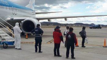Aterrizó en Comodoro un avión proveniente de Buenos Aires