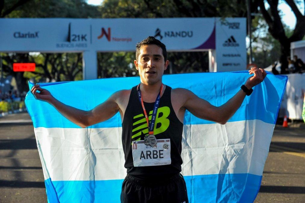 Joaquín Arbe: Estoy por cumplir un sueño.