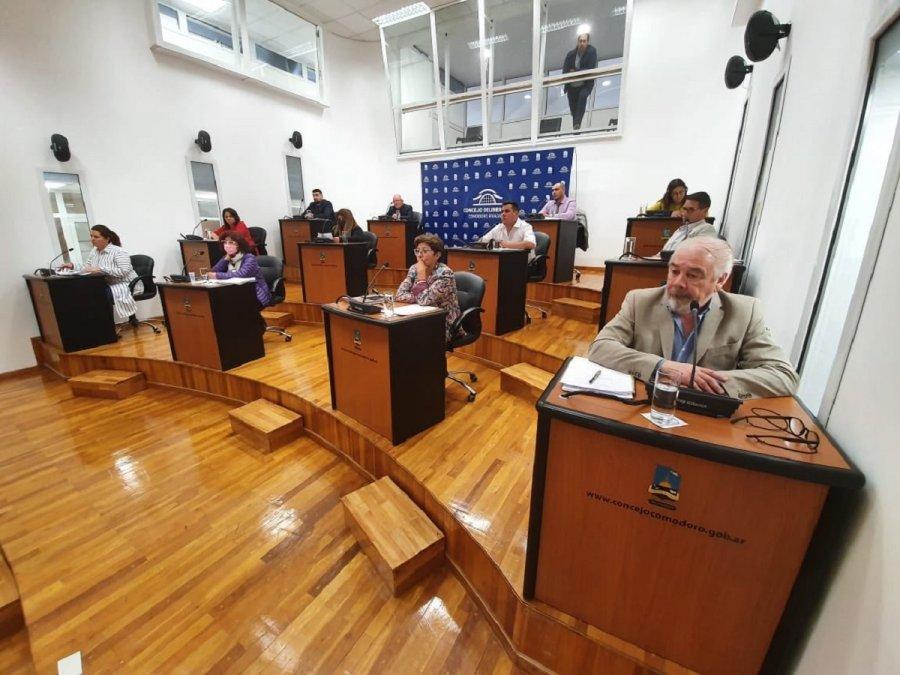 El Concejo aprobó una ampliación presupuestaria de 543 millones