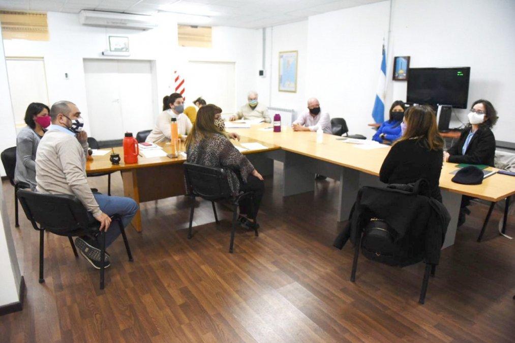 El equipo del organismo se reunieron con los integrantes de la Comisión 2 de las Personas con Necesidades Especiales