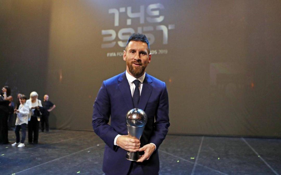 Messi ganó el premio en el 2019.