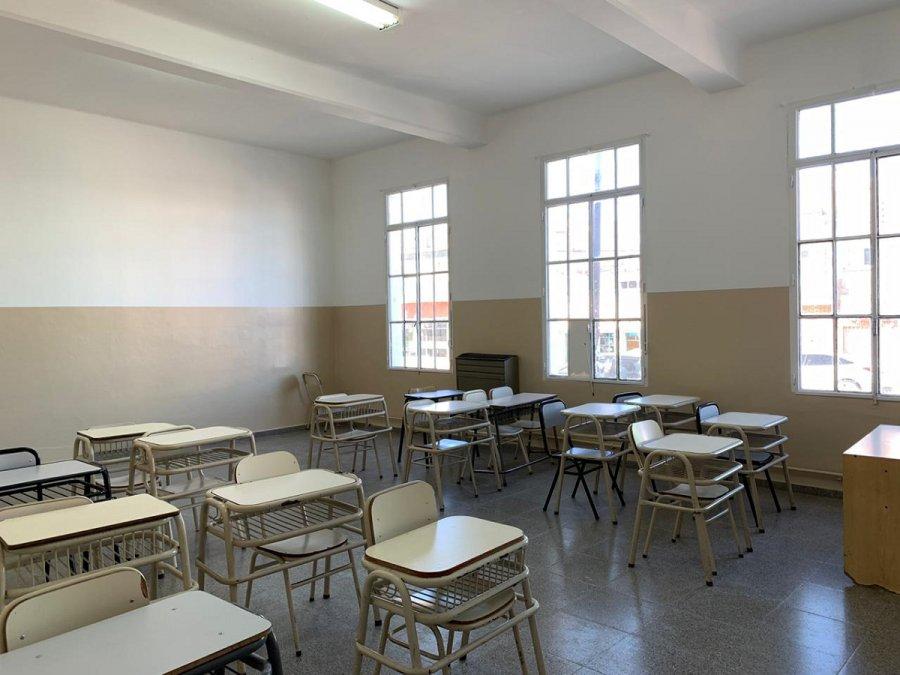 El Ministerio de Inafraestructura finalizó la obra de reparación de la Escuela Nº 119.
