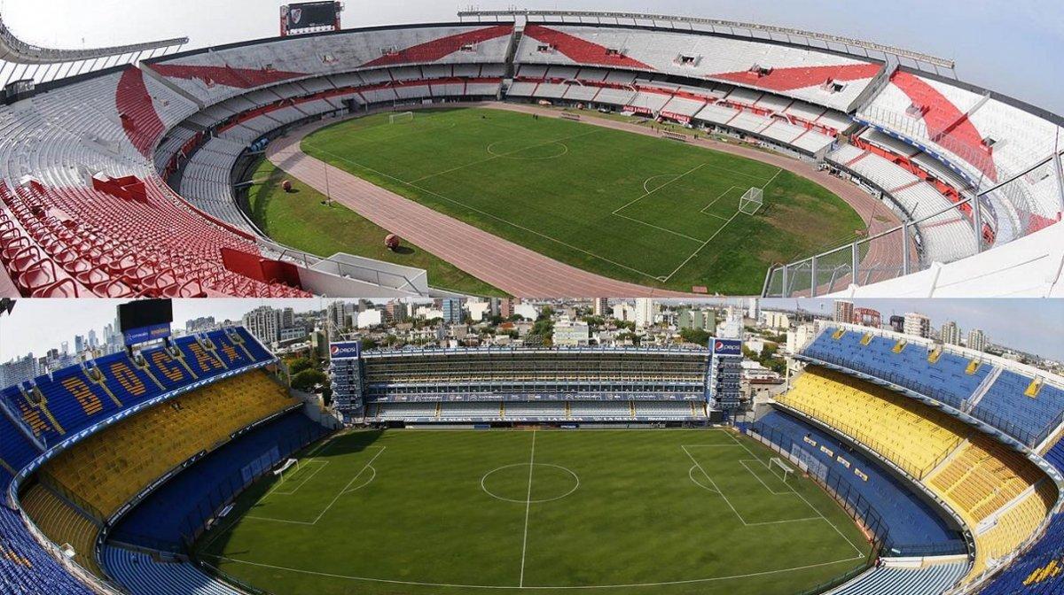 Cinco estadios argentinos buscan albergar la final de la Libertadores