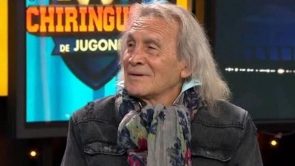 Hugo Gatti volvió a su programa de televisión en Madrid.