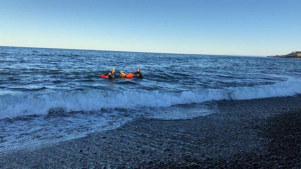 Desde hoy se habilita la natación en aguas abiertas.