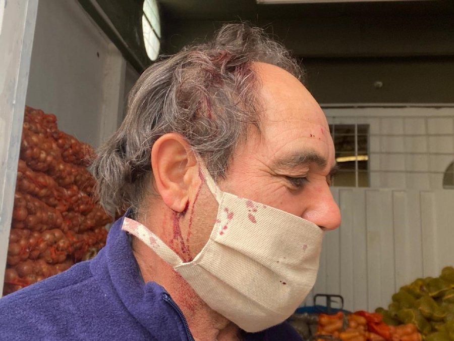 Se produjo un robo a mano armada en un depósito de frutas y verduras de la calle 13 de Diciembre.