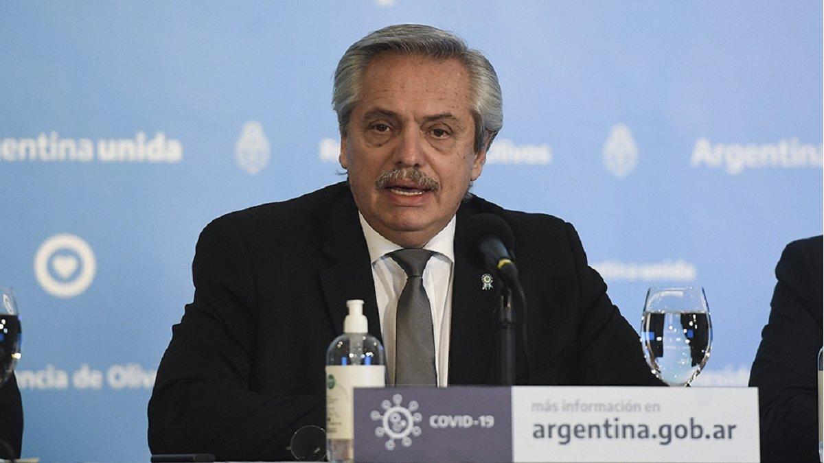 El Presidente Alberto Fernández anunció que la cuarentena continuará hasta el 7 de junio.