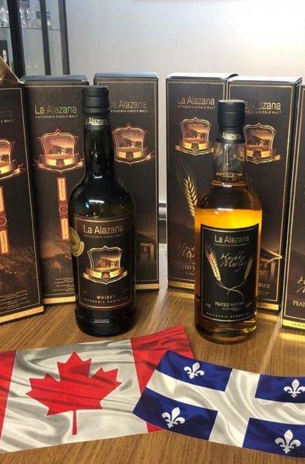 Productos de La Alazana exportados a Canadá.