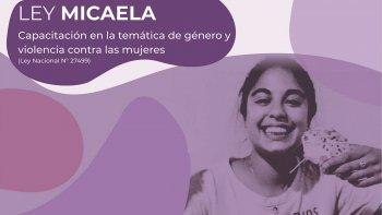 Se aprobaron las capacitaciones virtuales de la Ley Micaela
