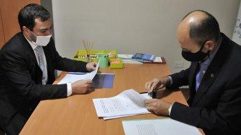 Arcioni presentó jury de enjuiciamiento contra el fiscal Fernando Rivarola