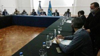 El gobernador encabezó una nueva reunión de gabinete