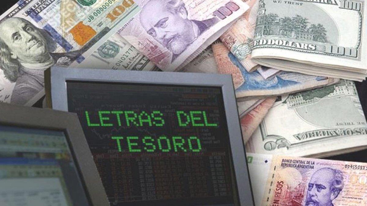 El miércoles 24 de junio el gobierno colocará Letras del Tesoro