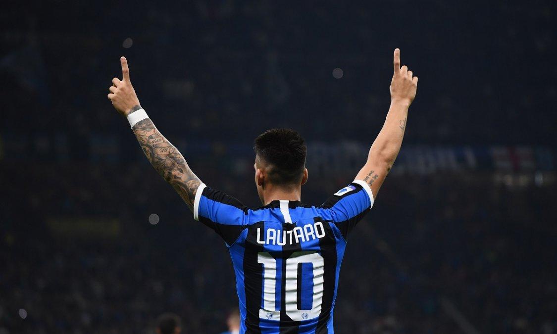 Italia: El Inter de Lautaro Martínez se pone al día frente a la Sampdoria en la Serie A