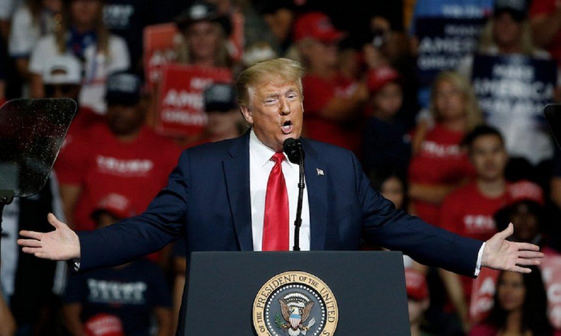 Donald Trump va por la releección en Estados Unidos.