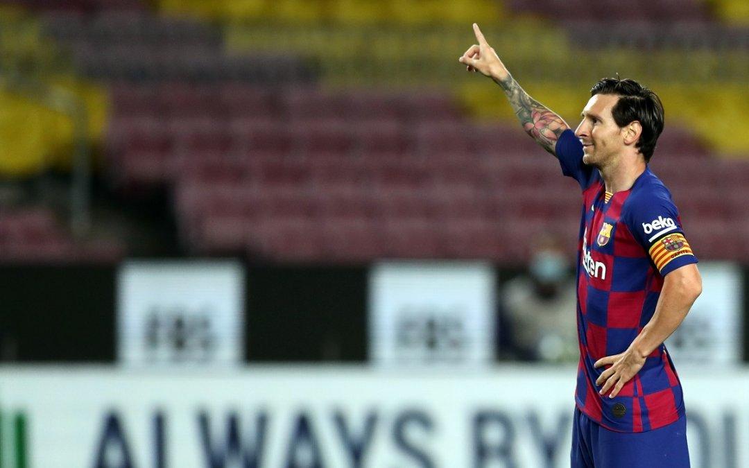 Messi quiere llegar a los 700 goles en su carrera.