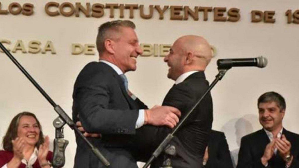 El Gobernador Mariano Arcioni respaldó al Ministro de Seguridad