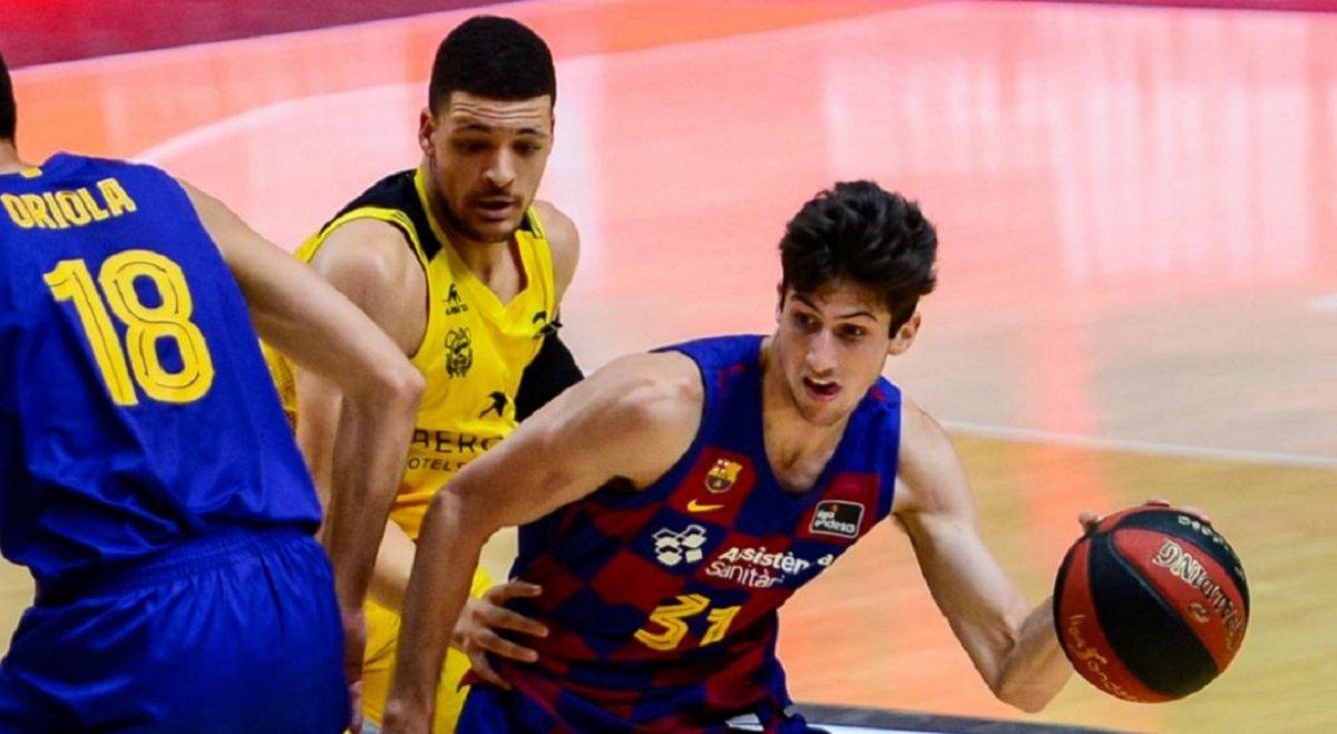 Liga ACB: Gran partido de Bolmaro en la derrota del Barcelona