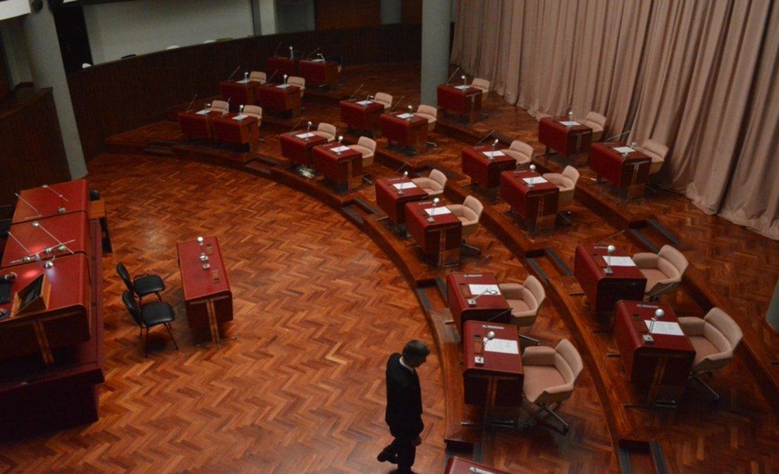 La próxima semana se realizará de manera virtual la sesión en la Legislatura Provincial. Solo asistirán diputados de Rawson