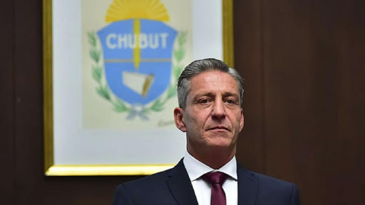 El gobernador de Chubut