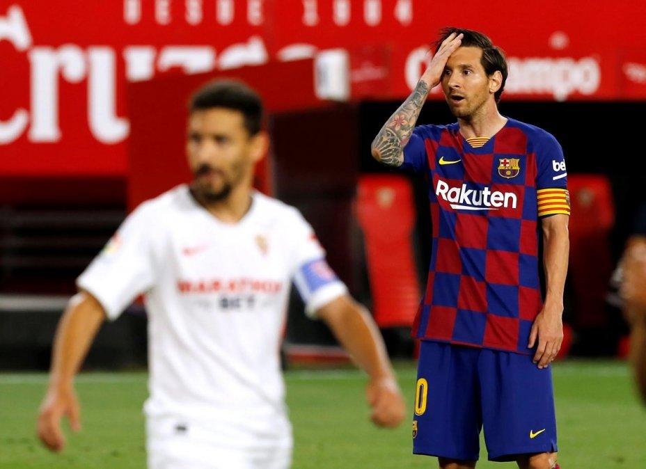 Messi es el goleador de La Liga con 21 tantos.