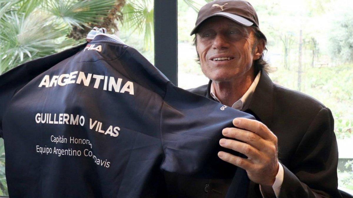 La AAT reconoce a Guillermo Vilas de por vida