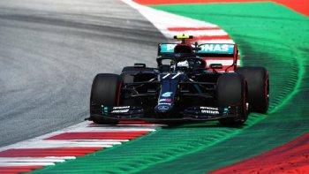 Bottas fue el más rápido del fin de semana en Austria.