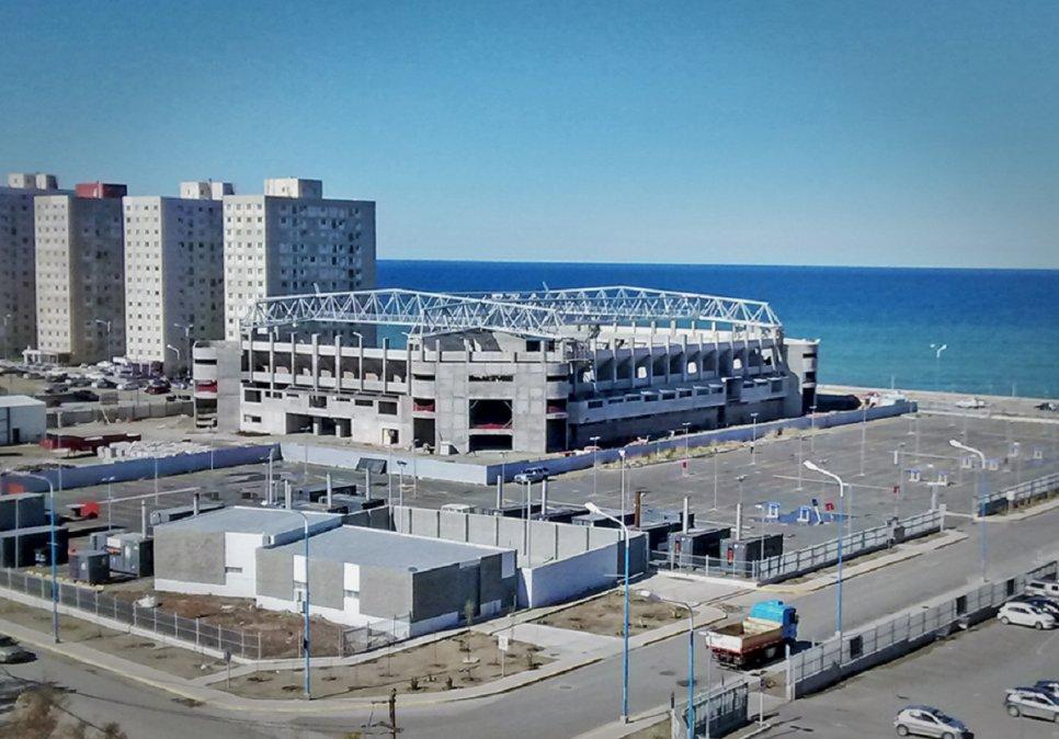 La obra del Estadio del Centenario comenzó hace 19 años.