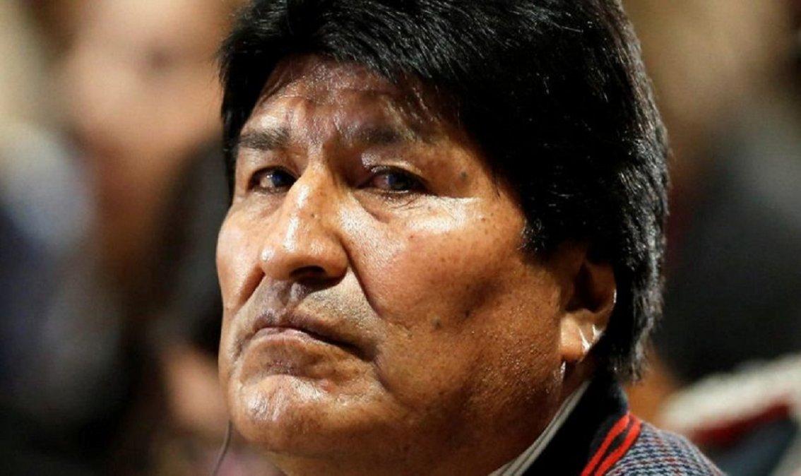 Evo Morales fue dado de alta.