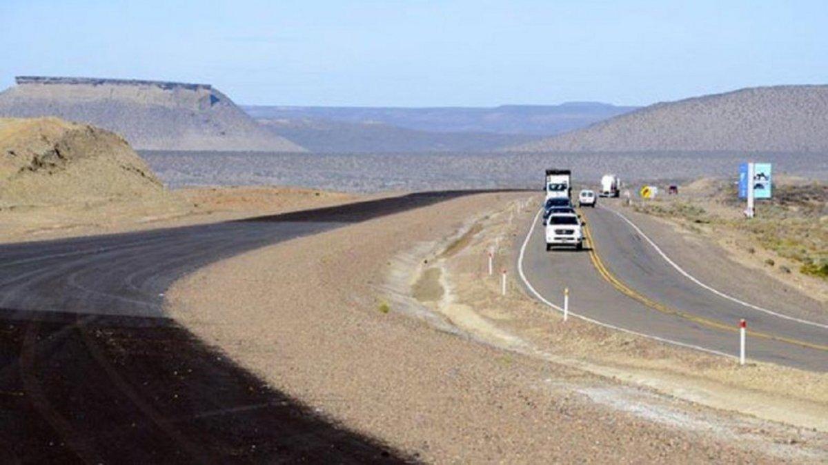 Autovía Comodoro-Caleta.