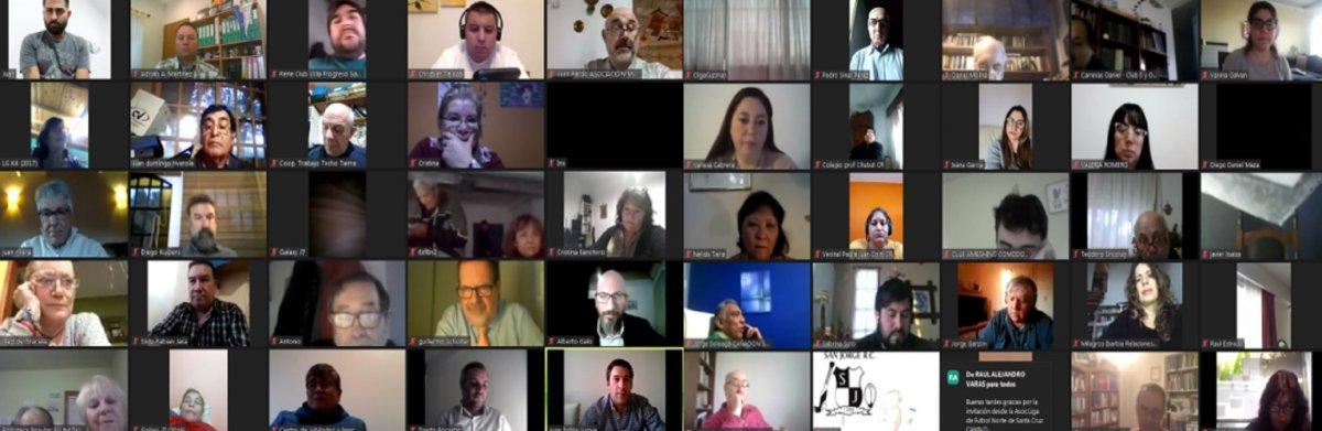 Reunión Virtual.