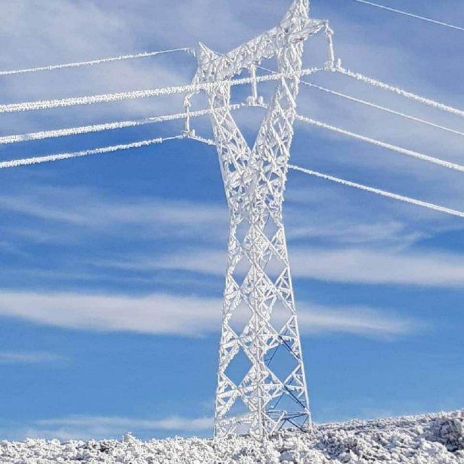 Al final fueron 55 las torres de alta tensión que colapsaron como consecuencia de la nieve