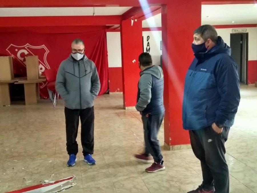 Luque repudió los actos vandálicos en el Club Rivadavia