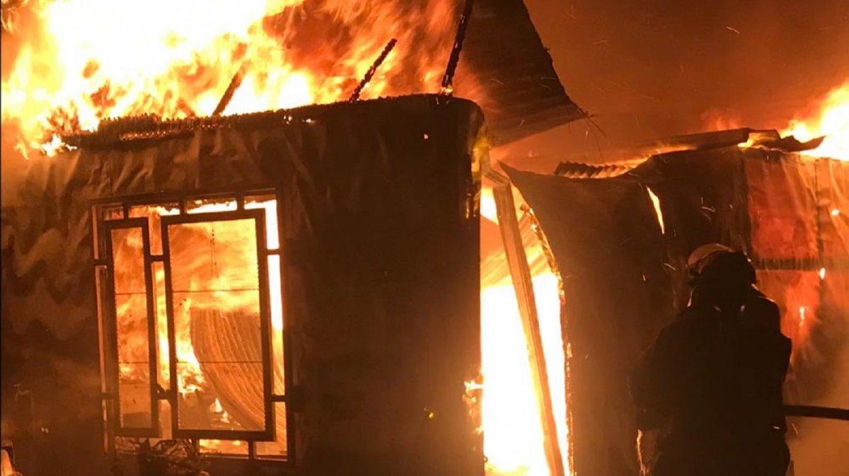 Un incendio provocó pérdidas totales para una familia del Abel Amaya