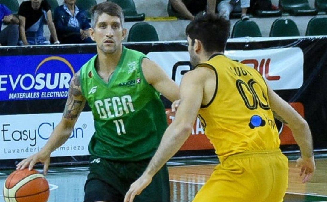 Jonatan Treise jugará su tercera temporada en Gimnasia y Esgrima.