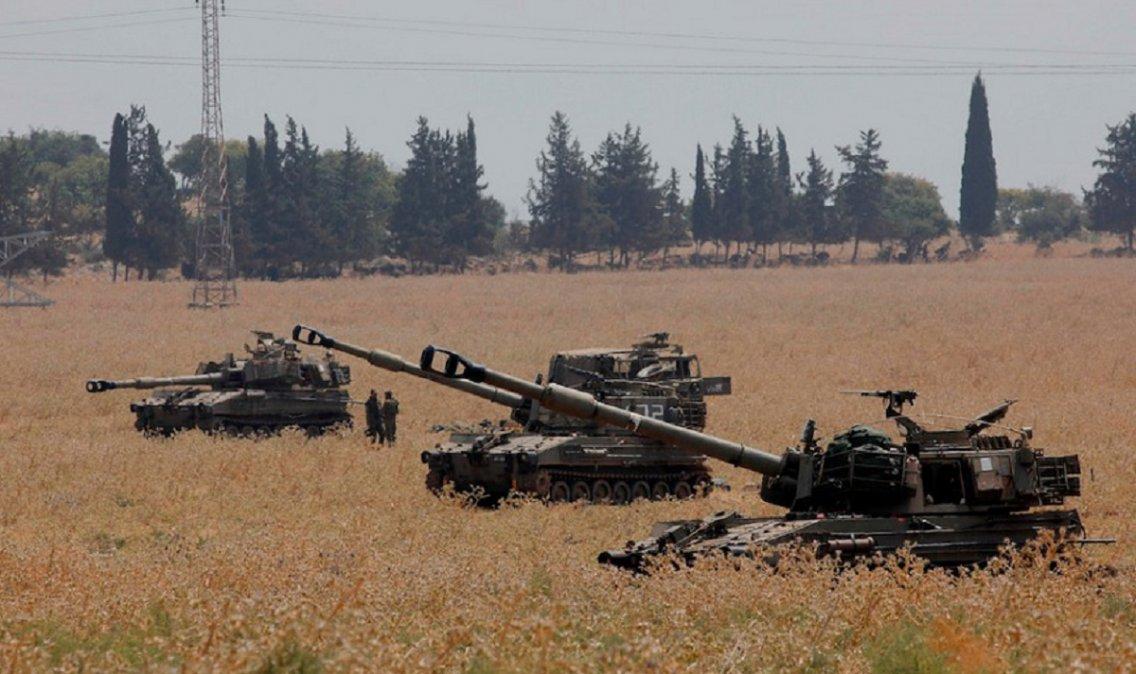Enfrentamientos entre Israel y Hezbolá en la frontera libanesa.