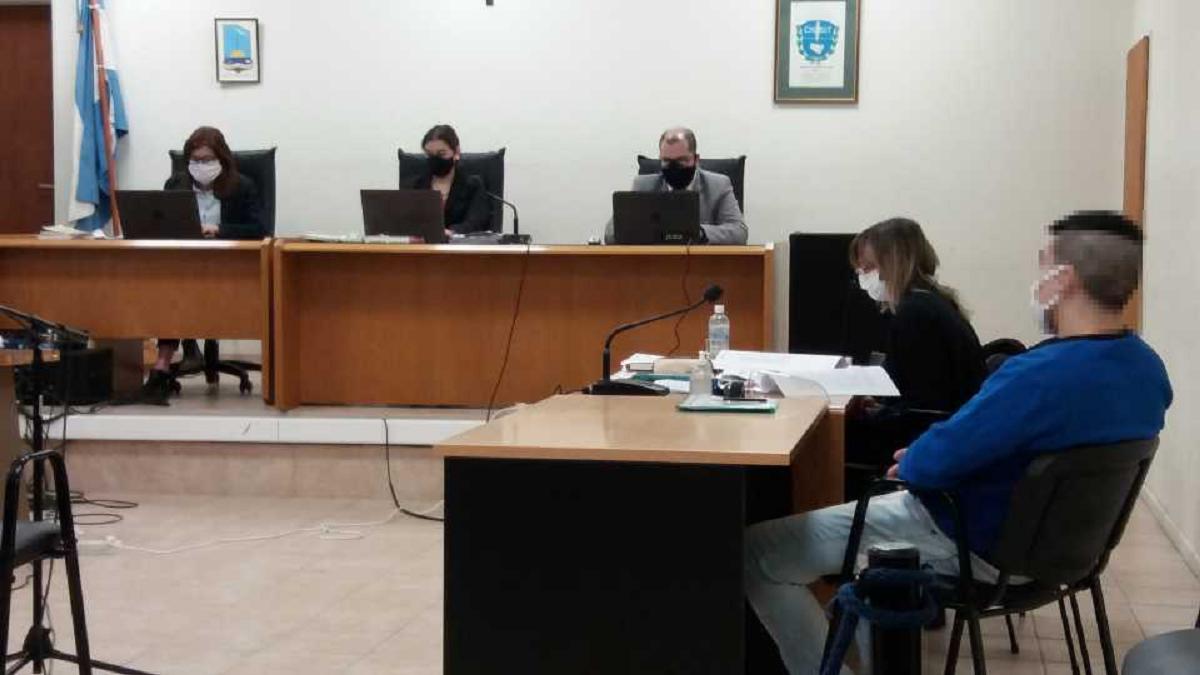 Barría fue declarado penalmente responsable del delito de abuso sexual con acceso carnal.