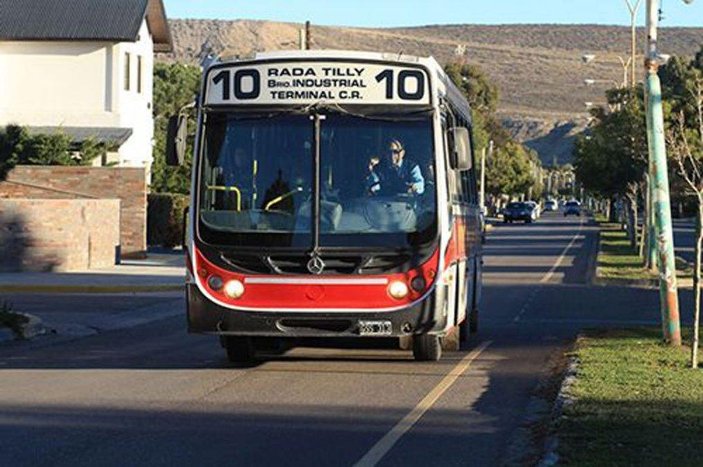 El jueves 30 de julio el servicio de transporte que presta Expreso Rada Tilly será normal