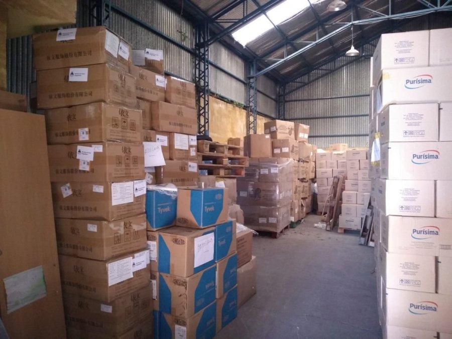 Nación envió equipamiento e insumos médicos a Chubut.