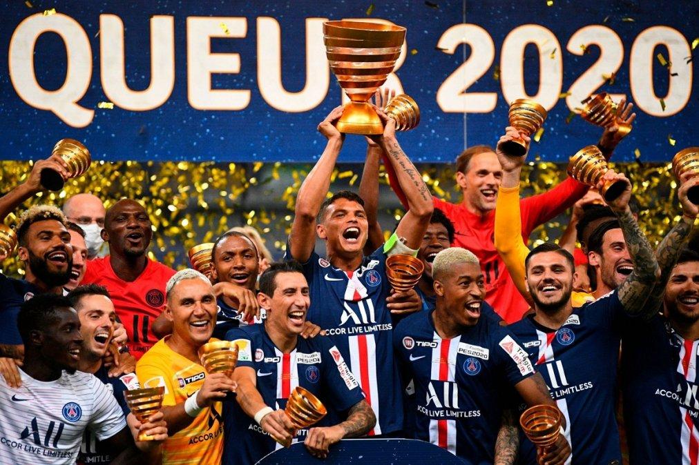 PSG se consagró campeón de la Copa de la Liga de Francia