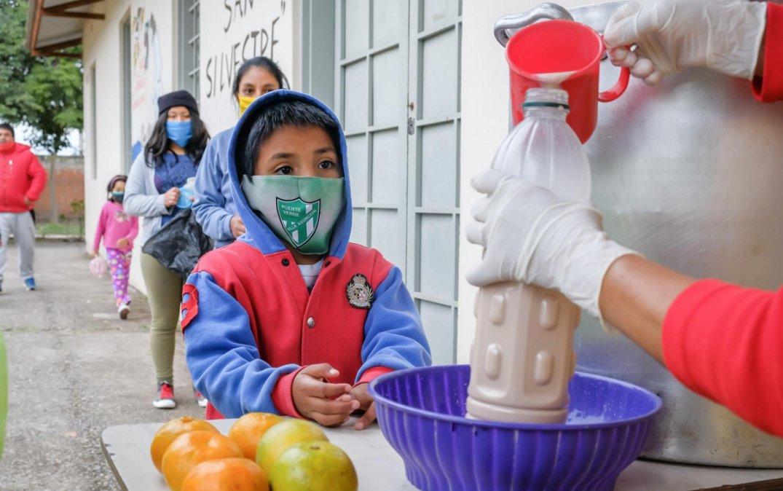 Por la pandemia