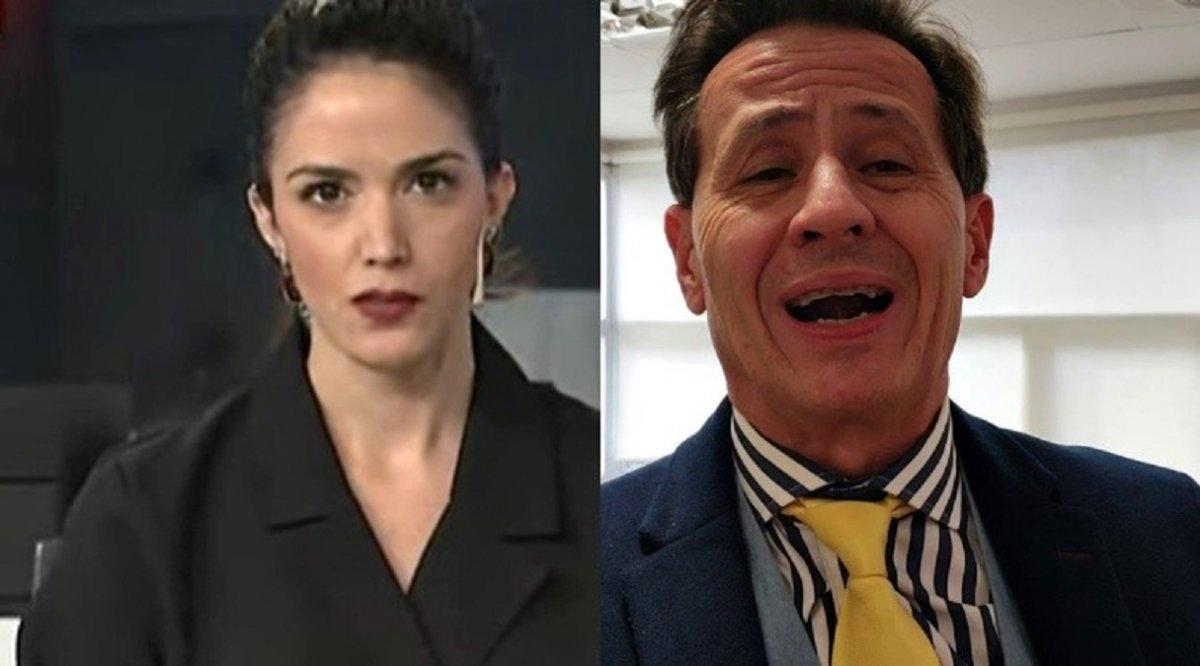 Lucila Trujillo fue maltratada porSantiago Terán en vivo.