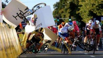 El terrible accidente que dejó a un ciclista en coma