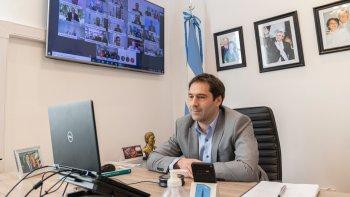Luque remarcó el respaldo del Gobierno Nacional a las gestiones del municipio