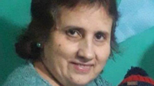 Cristina Rosalía Vignoli, apareció este domingo por la noche.