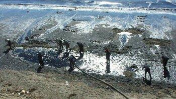 El incidente ocurrió el 26 de diciembre de 2007 y afectó a más de 7 kilómetros de costa marina.
